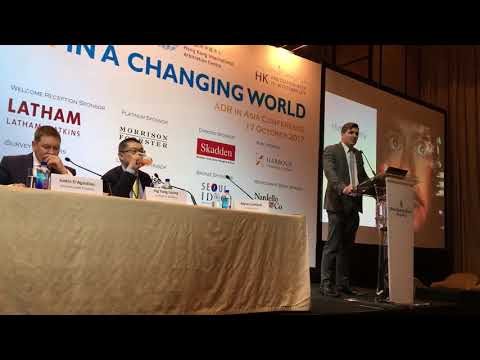 Artificial Intelligence and Law – Arbitration In a Changing World Asia Conference 2017