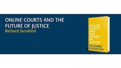 This Will Be Flying Off The Shelves. Susskind Publishes Online Courts and the Future of Justice Hardcover – 14 Nov 2019