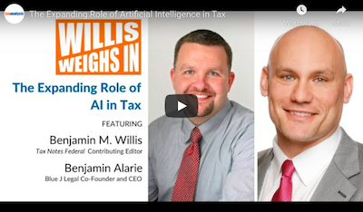 Video: The Expanding Role Of Artificial Intelligence In Tax